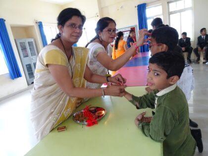 Raksha Bandhan at RRPS